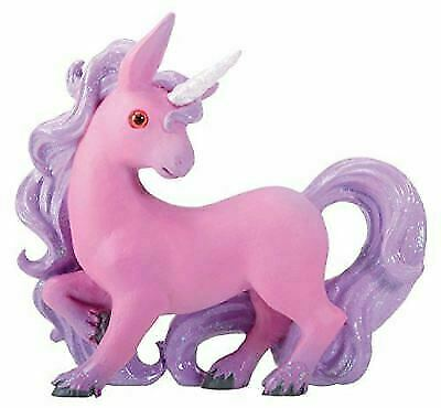 Pink Unicorn Sera with Purple Hair and A White Horn Collectible