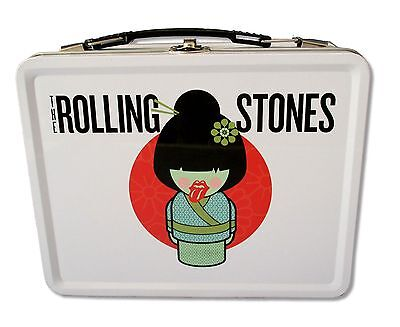 """The Rolling Stones - """"geisha"""" White Lunch Box New Official Merchandise"""