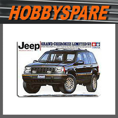 Tamiya 1/24 Jeep Grand Cherokee Limited V8 Model Kit 24127