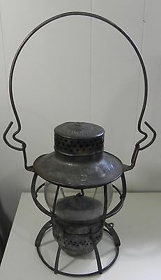 Antique Dressel Railway Lantern Made In Arlington N.j.