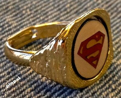 Superman Toy Ring~Nestle Candy Premium~Vintage 1976~DC Comics~Super Hero~unused
