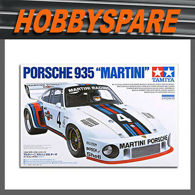 "Tamiya 1/24 Porsche 911 935 ""martini"" Turbo 1976 Model Kit 24311"