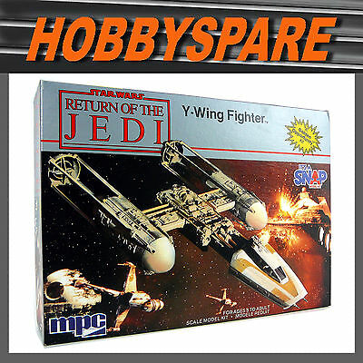 Mpc Star Wars Return Of The Jedi: Y-Wing Fighter Model Kit 1984 New Old Stock