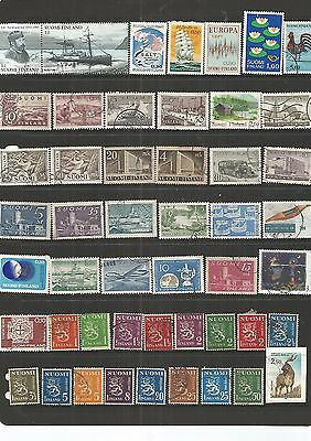 Finland 49 Used Stamps  Nice Lot , See Scan