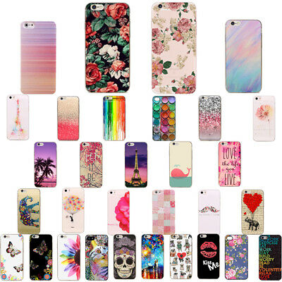 Soft TPU Patterned Fundas Carcasa Case Cover Protejer For iPhone 6 6s