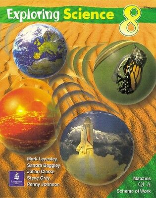Exploring Science QCA Pupils Book Year 8 (Paperback), Levesley, M...