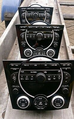 Mazda Rx8 03-08 Genuine Mazda Bose Stereo Cd Player Fully Working & Ac Controls