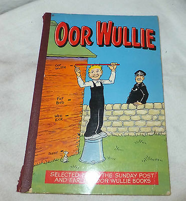 1979 OOR WULLIE Annual Vintage COLLECTABLE Sunday Post COMIC The Broons