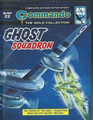 Ghost Squadron,commando The Gold Collection,no.4944,war Comic,2016