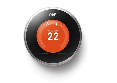 Nest Learning Thermostat 2nd Generation Smart Smartphone Home Heating Winter