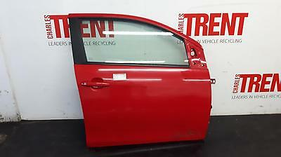 2016 PEUGEOT 108 5 Door Hatchback Red O/S Drivers Right Front Door