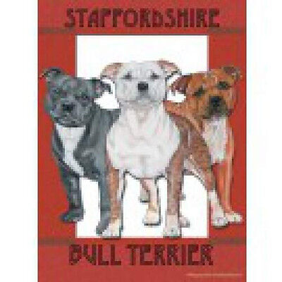 Large Indoor/Outdoor Pipsqueak Flag - Staffordshire Bull Terrier 49512