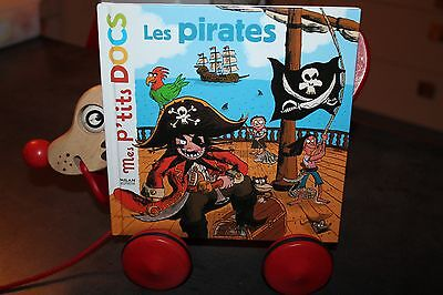 Mes P'tits DOCS Les pirates éditions Milan BE