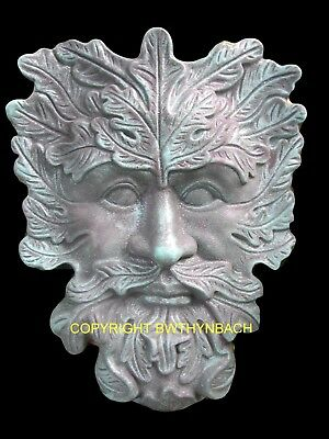 New Rubber Latex Mould Moulds Mold Pagan Wiccan Green Man Greenman Wall Plaque 8