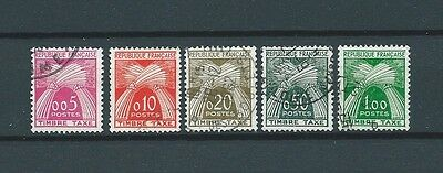TIMBRES TAXES - 1960 YT 90 à 94