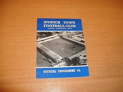 1965 - 1966 IPSWICH TOWN v WORKINGTON LEAGUE CUP 3RD REPLAy