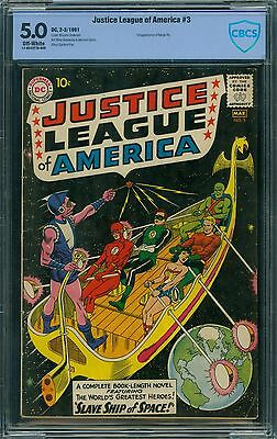 Justice League of America 3 CBCS 5.0 - OW Pages