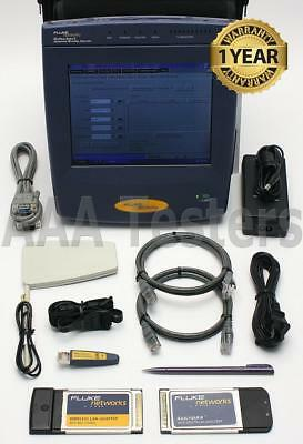 Fluke Networks OptiView Series II Ethernet PRO 2 w/ VLAN WAN OPVS2-PRO OPVS2