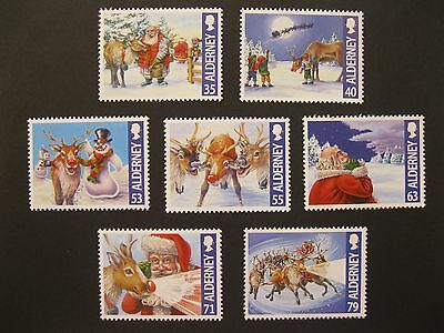 ALDERNEY 2013 CHRISTMAS - unmounted mint set