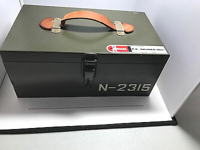 PK Neuses Electricians Stamping Kit Enclosure Panel Box Cable Numbers Letters