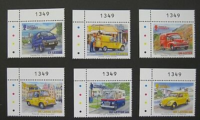 GUERNSEY 2013 THE POSTMANS VAN - unmounted mint set