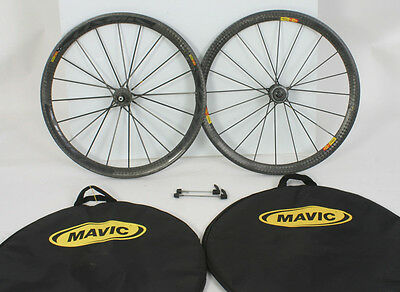 Mavic Cosmic Carbone Ultimate Tubular Wheelset 700c Shimano/SRAM 10 11 Speed CCU