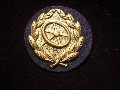 ORIGINAL WWII highest grade driving proficiency badge for Luftwaffe in gold