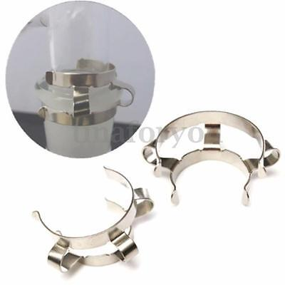 8pcs x 24# Stainless Steel Clip Keck Clamp For 24/29 24/40 Glass Ground Joint