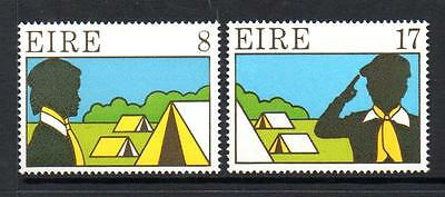 Ireland Mnh 1977 Sg409-410 Scouting And Guiding