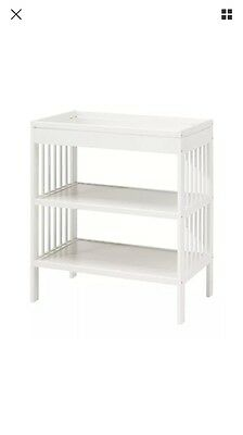 IKEA Gulliver Baby Changing Table White Children Home