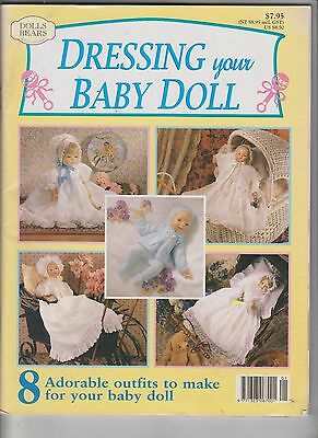 Dressing Your Baby Doll~Patterns~Outfits~50pp