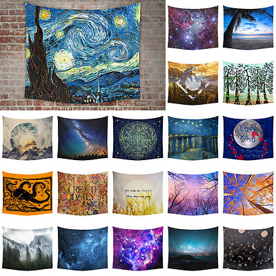 Nature Wall Tapestries Art Hanging Tapestry Hippie Bedspread Home Dorm Decor New