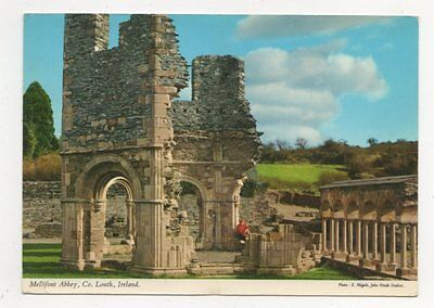 Mellifont Abbey Co Louth 1975 Ireland Postcard 910a