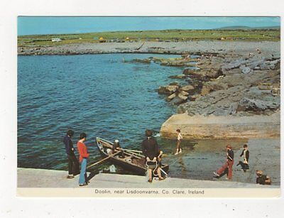 Doolin Near Lisdoonvarna Co Clare Ireland Postcard 910a