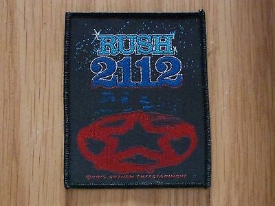 Rush - 2112 (New) Sew On W-Patch Official Band Merchandise