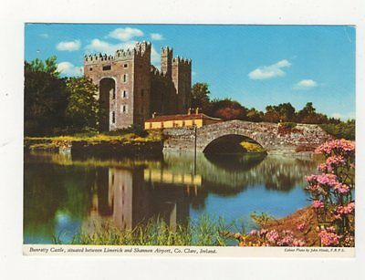 Bunratty Castle Co Clare 1983 Ireland Postcard 911a