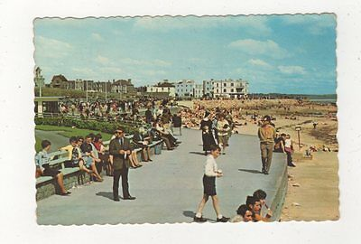 Promenade Salthill Co Galway 1971 Ireland Postcard 911a