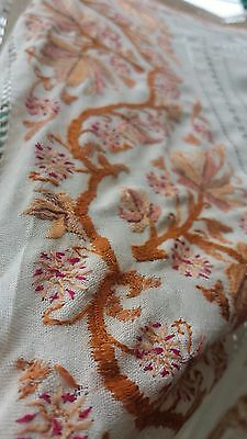 Antique Hand Embroidered tablecloth
