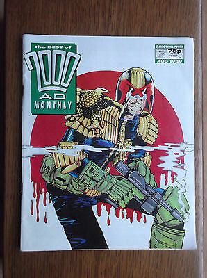 The Best Of 2000Ad Monthly Number 47, August, 1989 Judge Dredd