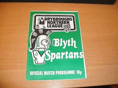 1981 FA CUP 1ST RD BLYTH SPARTANS v WALSALL