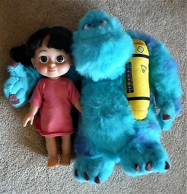 Disney Monster Inc Talking Boo Doll And Plush Talking Light Up Sully