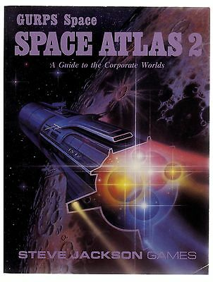 GURPS SPACE ATLAS 2 (GUIDE TO THE CORPORATE WORLD NEVER BEEN PLAYED 1st PRINTING