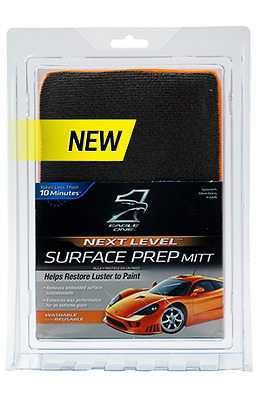 Eagle One Nano Skin Fine Surface Clay Mitt Retail Package UNLABELLED Buy 3 Get 1