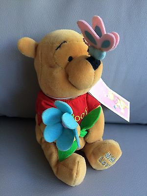 Disney Store Beanie Plush Mother's Day Pooh Adult Collector Displayed