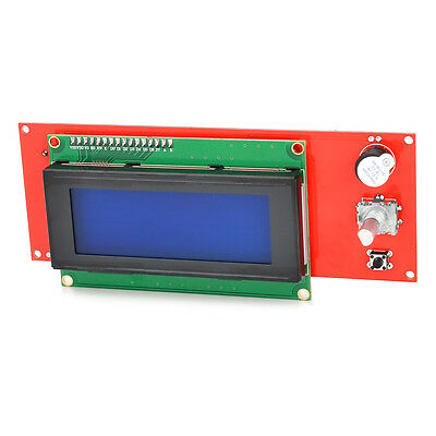 Robatale LCD Display Smart Controller W/ Adapter For RAMPS1.4 Reprap 3D Printer