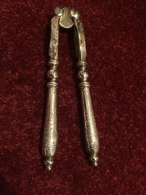Antique Silver Plated Nut Crackers