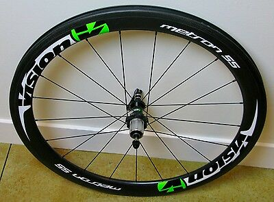 Vision Metron 55 Carbon Clincher Rear Road Wheel 700c Ceramic - Shimano / SRAM
