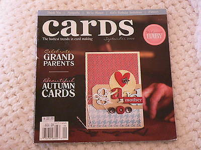 """""""CARDS"""" card making magizine book vol 4 issue 9"""