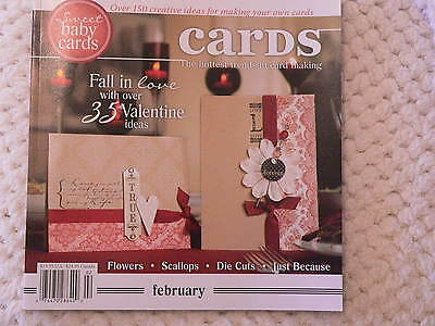 """""""CARDS"""" card making magizine book vol 3 issue 2"""