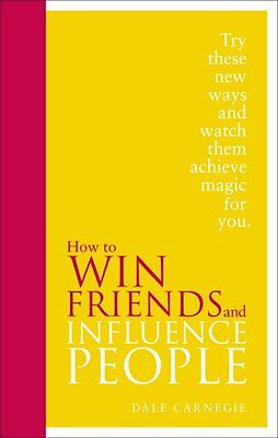 How to Win Friends and Influence People New Hardcover Book Dale Carnegie